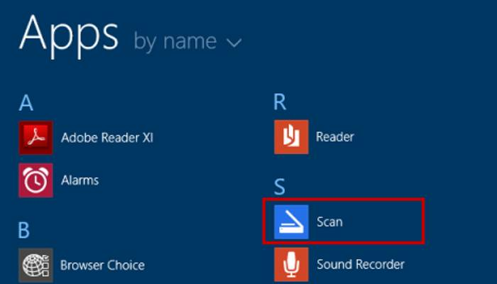 Comment scanner un document avec Windows 10