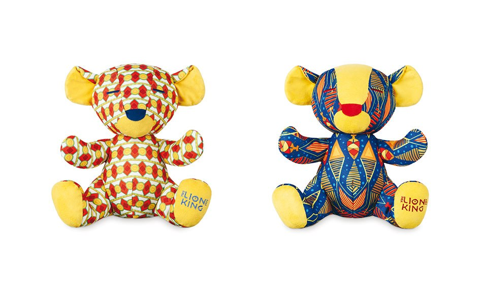 LE ROI LION PELUCHE POUR DISNEY PROTECT THE LIONS