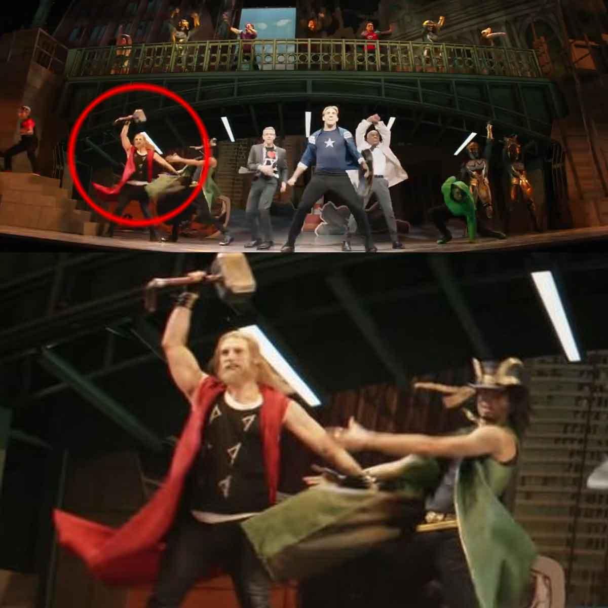 Chris Evans pourrait jouer Thor dans la série Hawkeye.